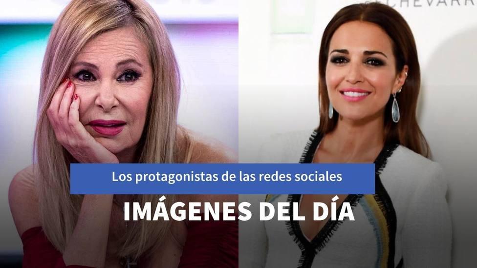 Imágenes del día: la soprendente imagen de Ana Obregón con su hijo y la fiebre de Paula Echevarría
