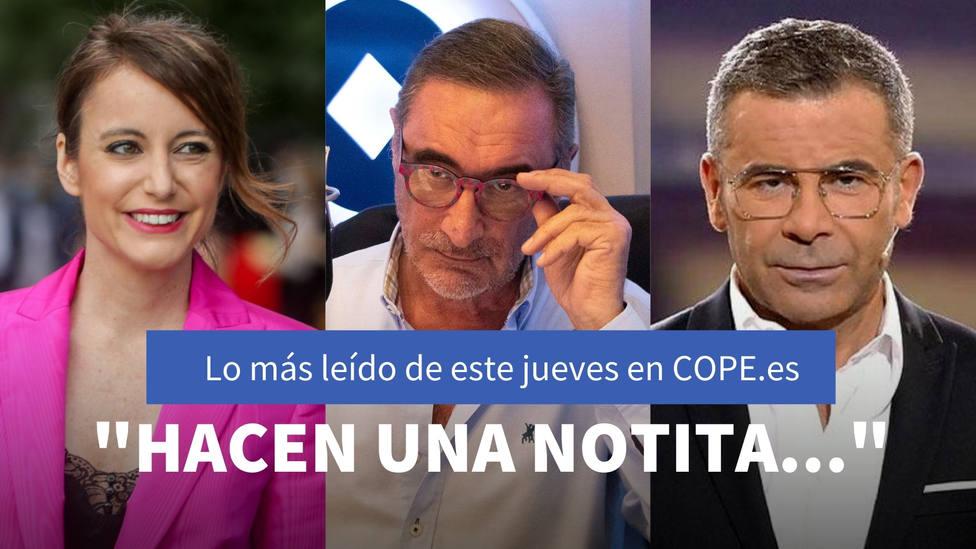 El baño de realidad de Herrera a Podemos por agredir al poder judicial, entre lo más leído de este jueves