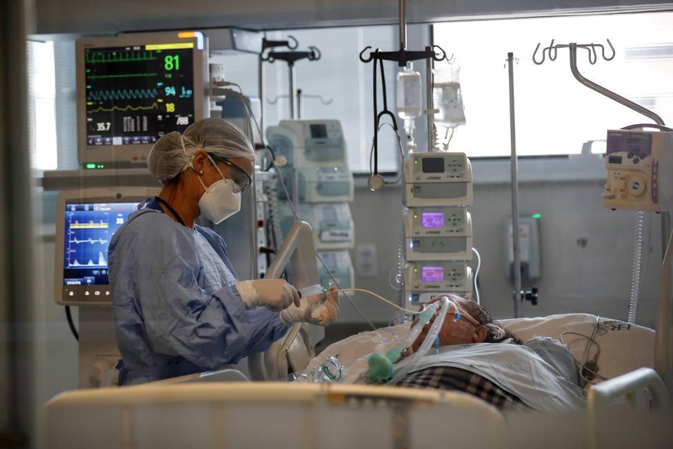 Pacientes con coronavirus ngresados en los hospitales andaluces