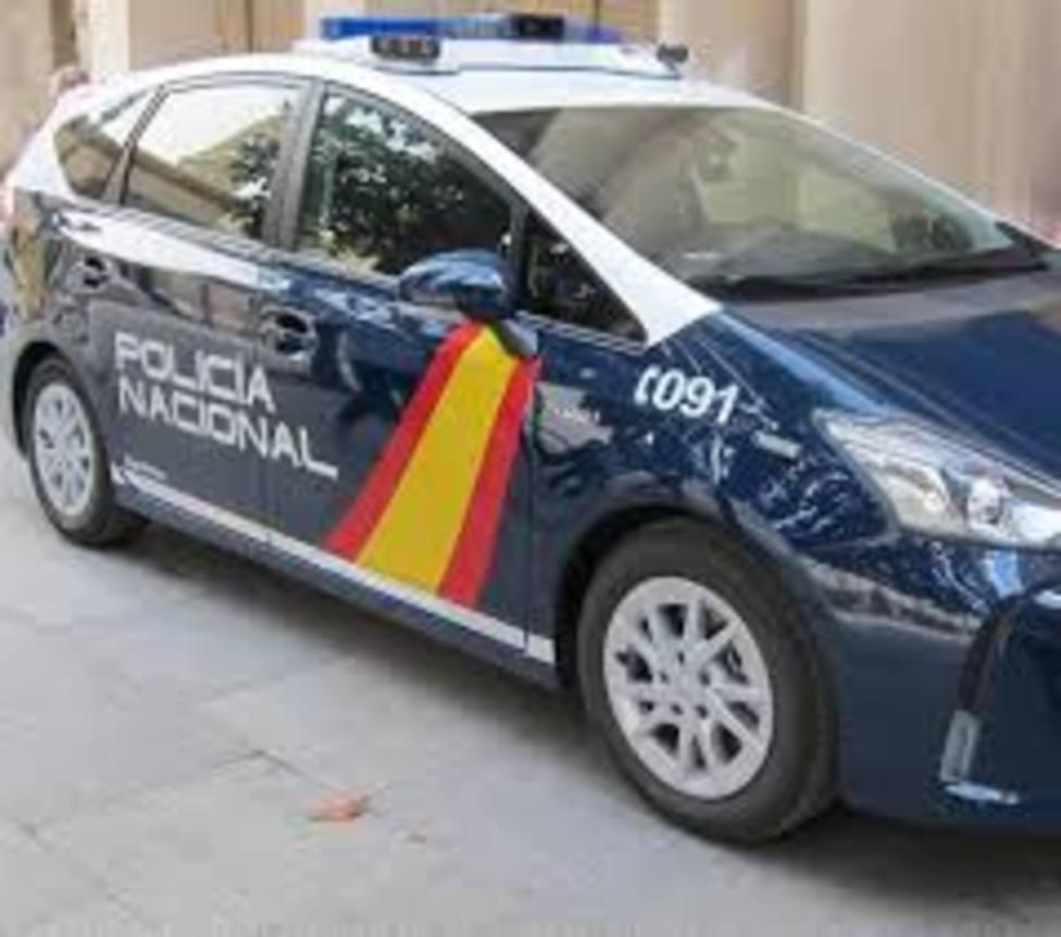 Foto furgoneta CNP (Europa Press - Policía Nacional)