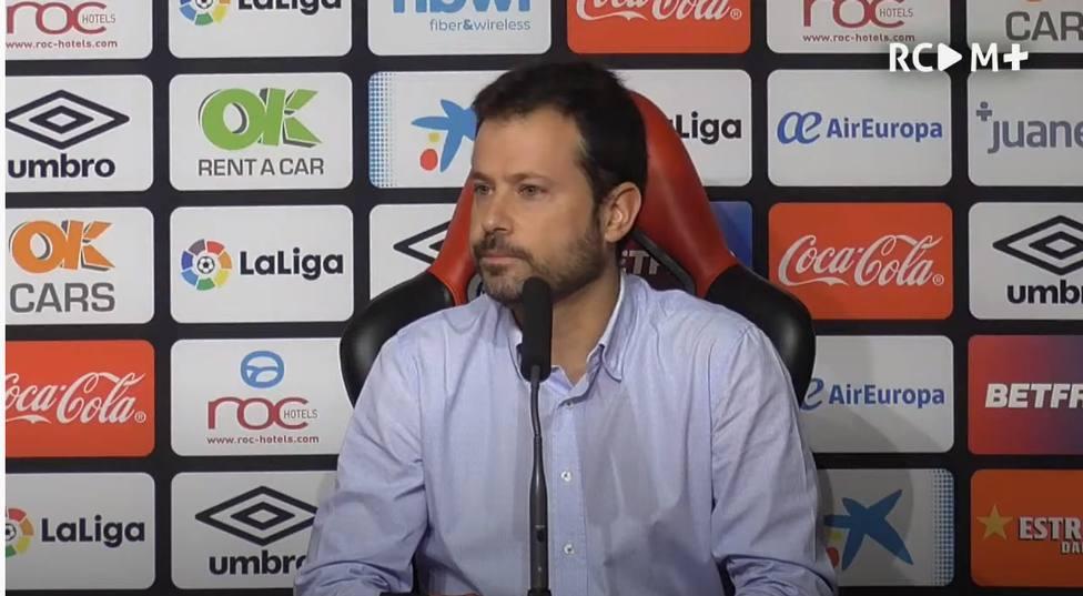 Pablo Ortells, en la rueda de prensa de este martes