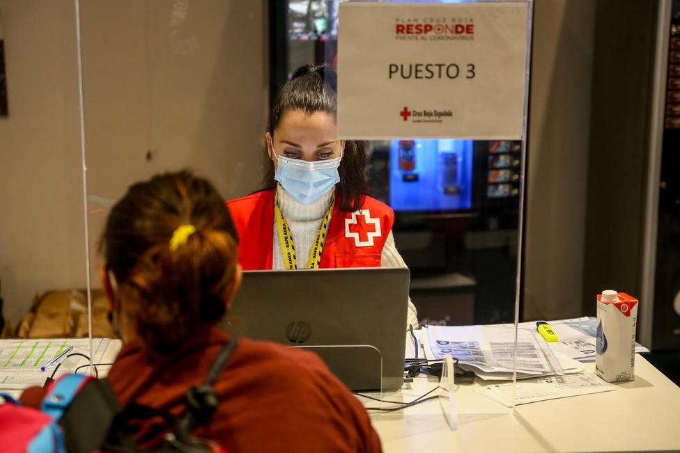Cruz Roja Cataluña agradece el crecimiento del 143% de nuevos usuarios durante la pandemia