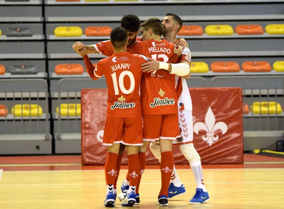 El Jimbee Cartagena vuelve a competir en Zaragoza