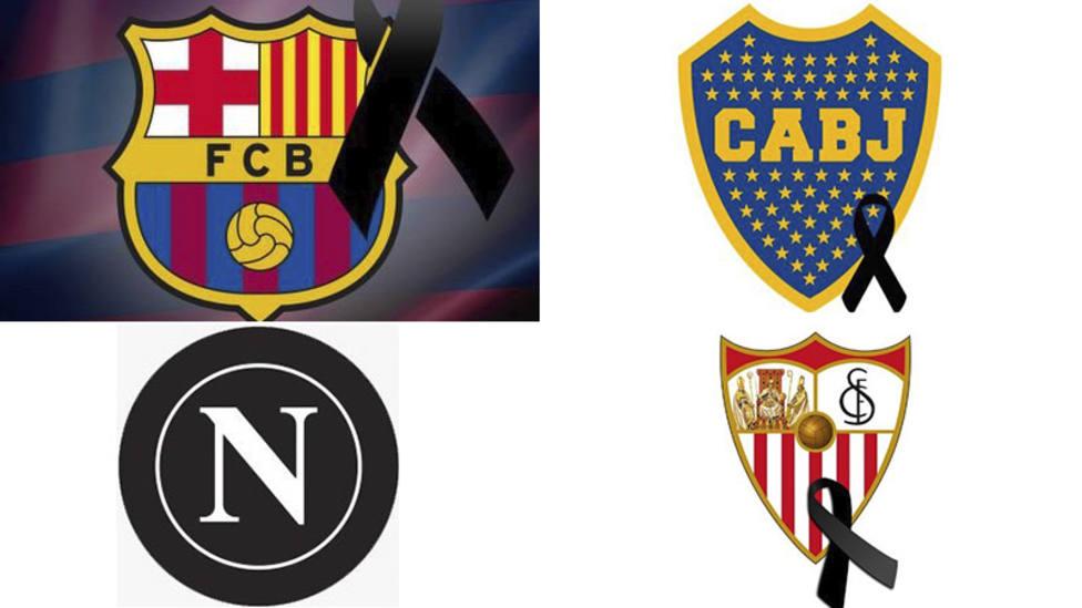 Barcelona, Nápoles y Boca Juniors despiden a Maradona: Eternas gracias. Eterno Diego