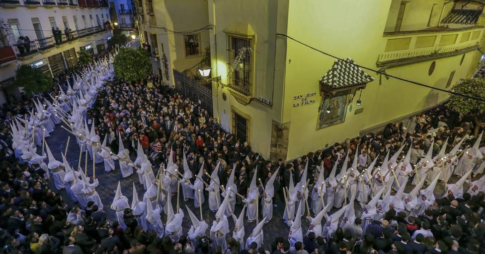 La primera retransmisión de la historia de la Semana Santa tuvo acento francés