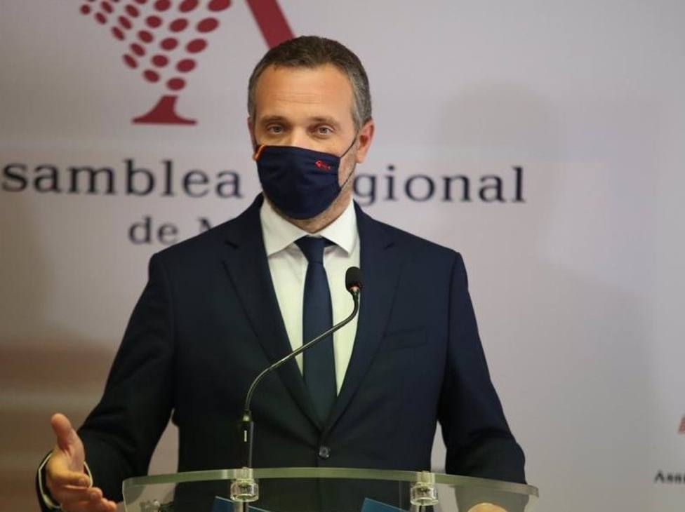 El portavoz del Grupo Parlamentario Popular, Joaquín Segado