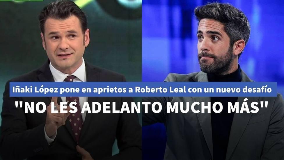 """Iñaki López pone en aprietos a Roberto Leal con un nuevo desafío en televisión: """"No les adelanto mucho más"""""""