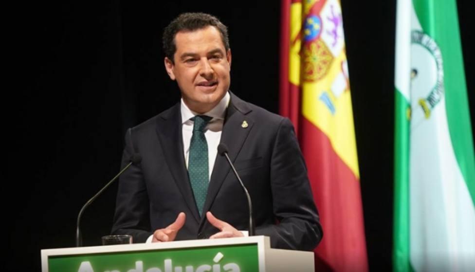 Juanma Moreno pide oportunidades e implicación de todos los sectores de la sociedad con Linares