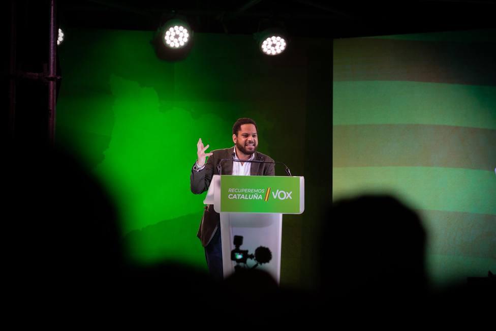 El candidato de la formación a la Presidencia de la Generalitat, Ignacio Garriga-David Zorrakino- Europa Press