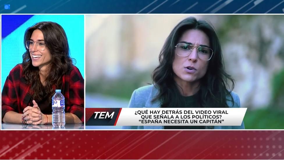 Tatiana Ballesteros le cuenta la verdad sobre la financiación de su vídeo contra los políticos a Risto Mejide