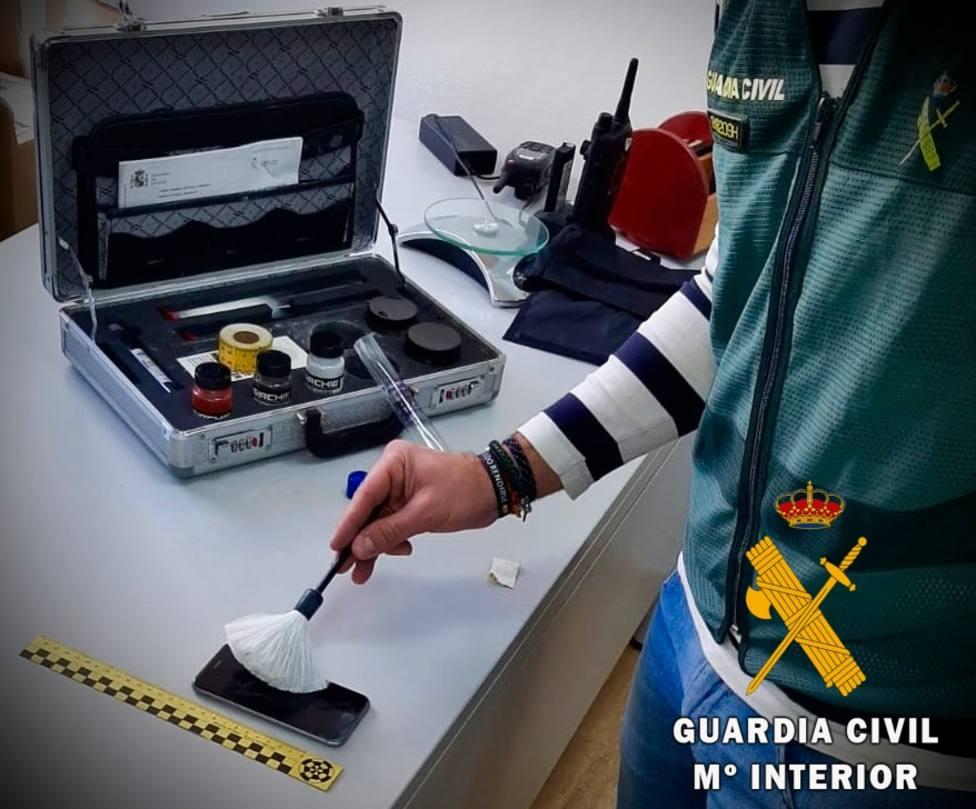 Robo con fuerza en una empresa (Guardia Civil)
