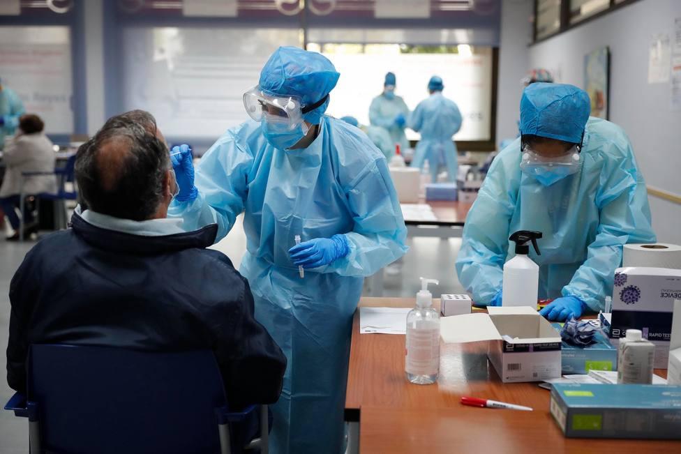 Test Antígenos | FOTO: Comunidad de Madrid