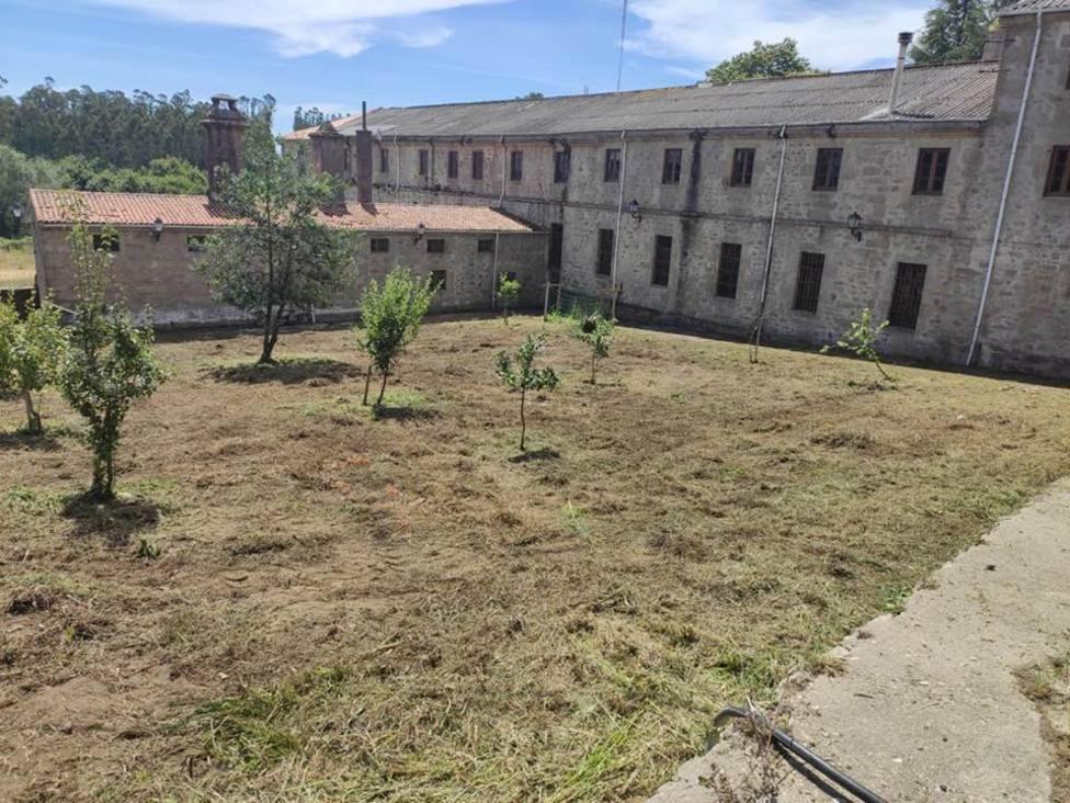 Foto de archivo del exterior del Monasterio Santa Catalina de Montefaro, en Ares - FOTO: J.I.