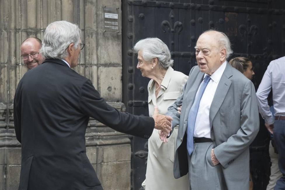 Imagen de archivo de Jordi Pujol y Marta Ferrusola