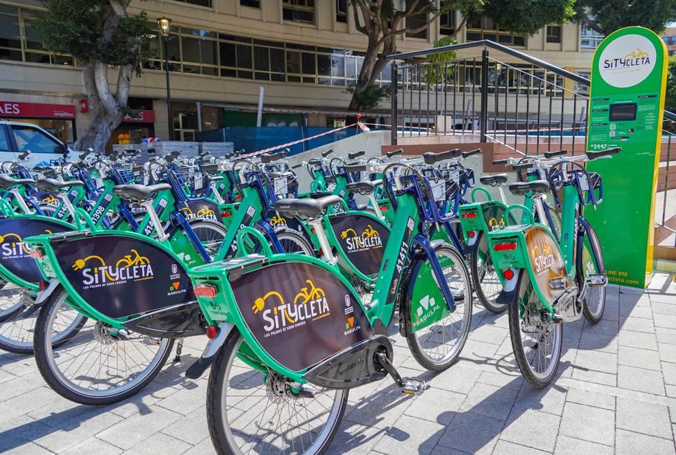 Sítycleta ultima una nueva estación eléctrica en la Plaza de España
