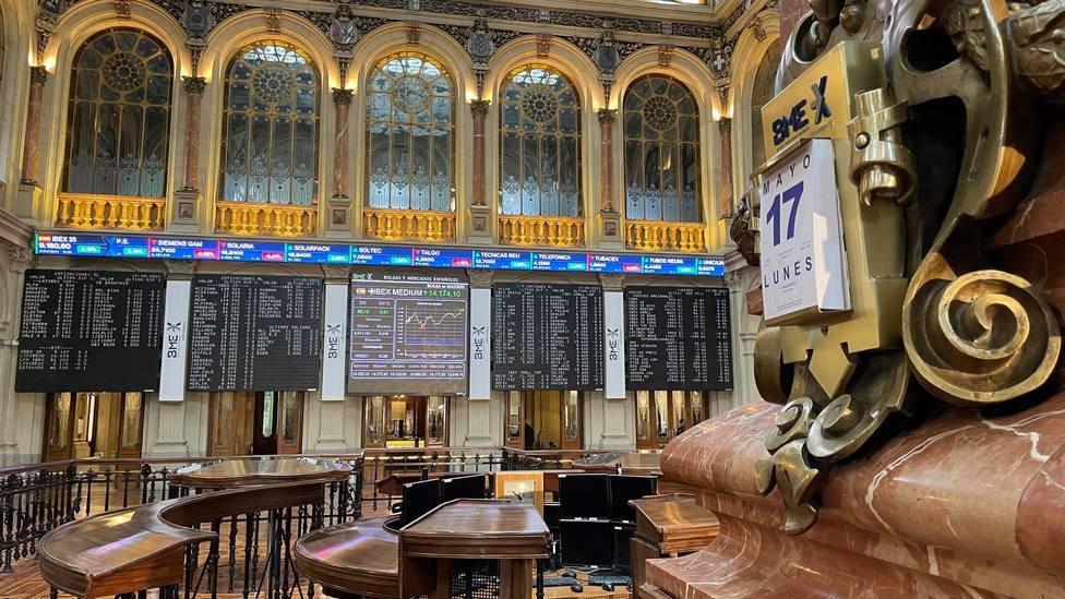 La Bolsa española gana el 0,46 % e intenta supera los 9.200 puntos