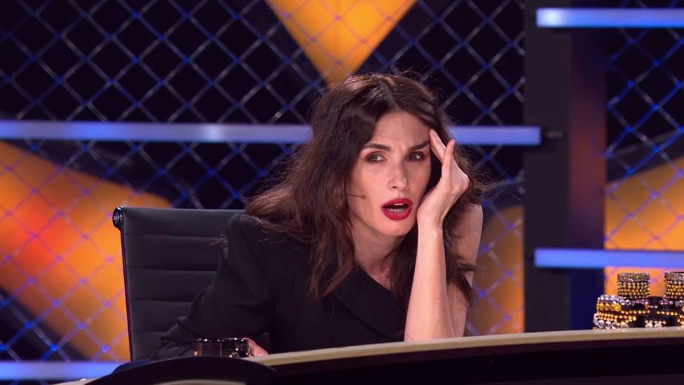 Paz Vega pierde los nervios en Mask Singer por la actitud de Los Javis: ¡Que te calles!