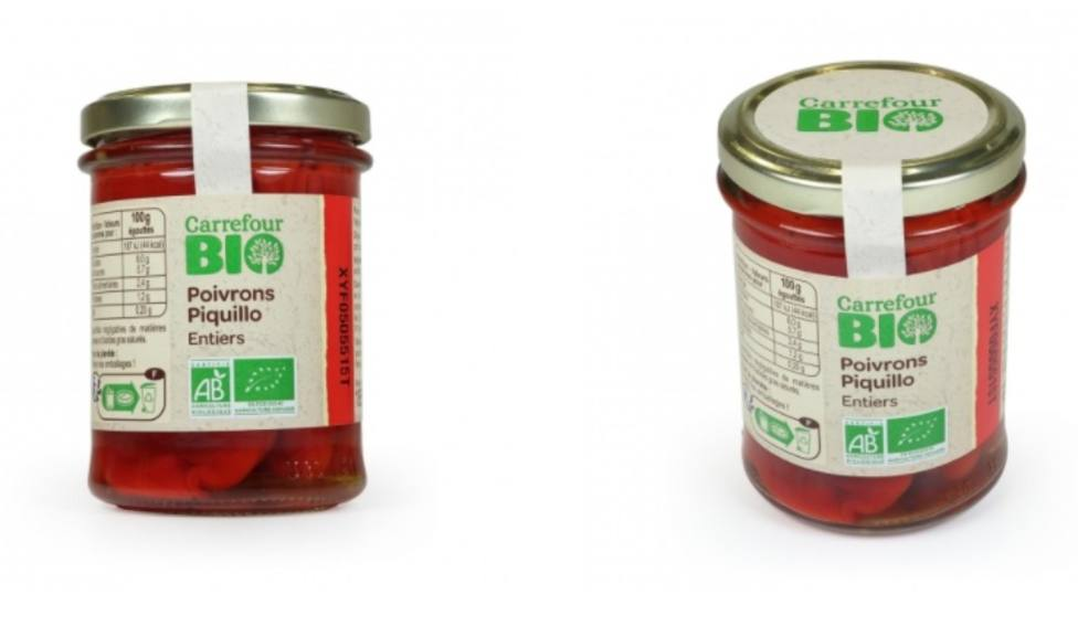 Los pimientos que Carrefour pide no consumir - FOTO: Carreofour