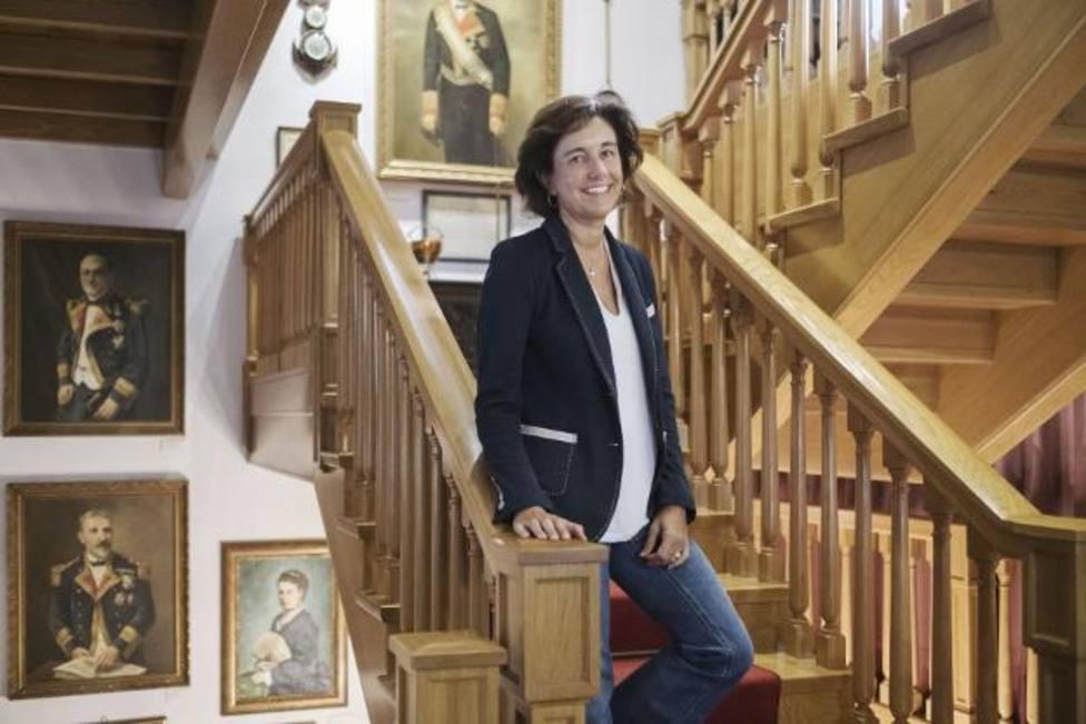 Cecilia Alvargonzález es la subdirectora la Fundación que su familia creó en el año 1992