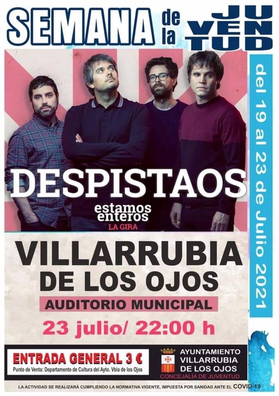 Concierto Despistaos en Villarrubia de los Ojos