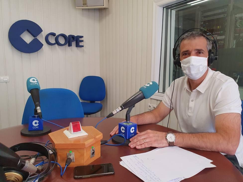 Fernando Suárez, alcalde de Ribadeo, en una foto de archivo