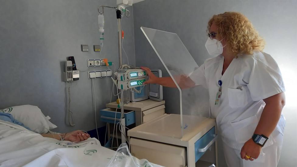 Imagen de una enfermera.
