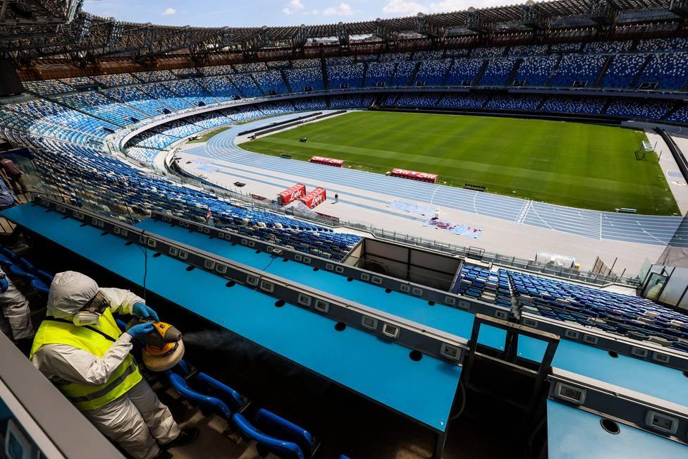 Grada Estadio San Paolo