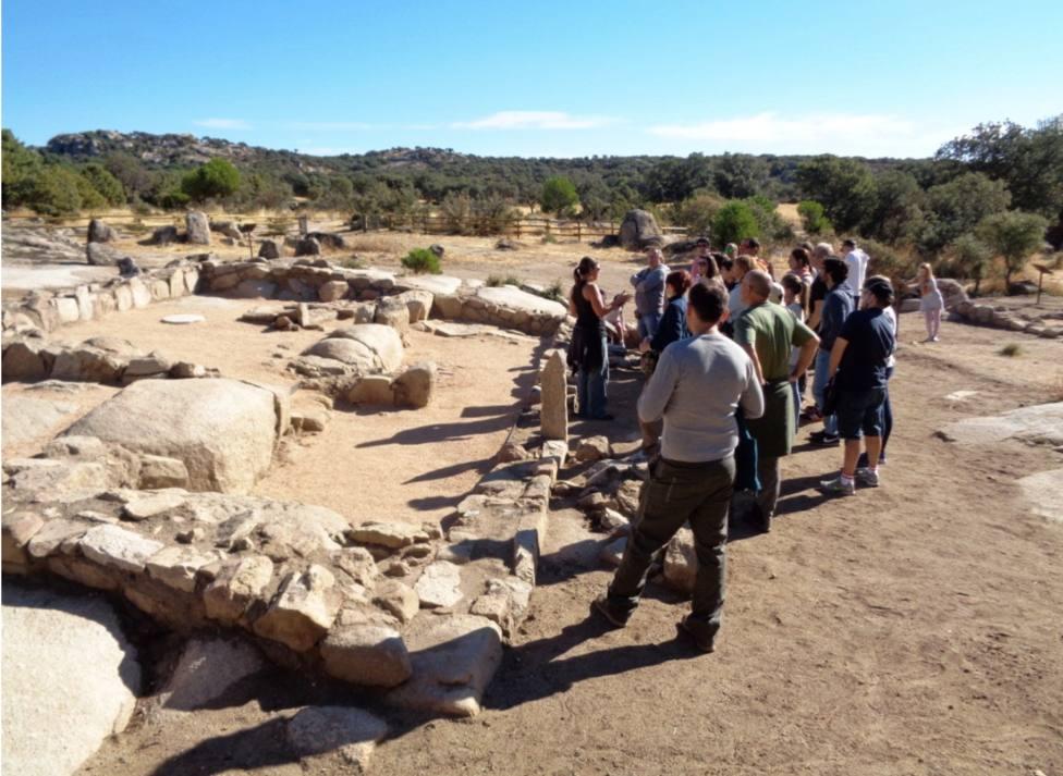 Yacimiento Arqueológico La Cabilda en Hoyo de Manzanares