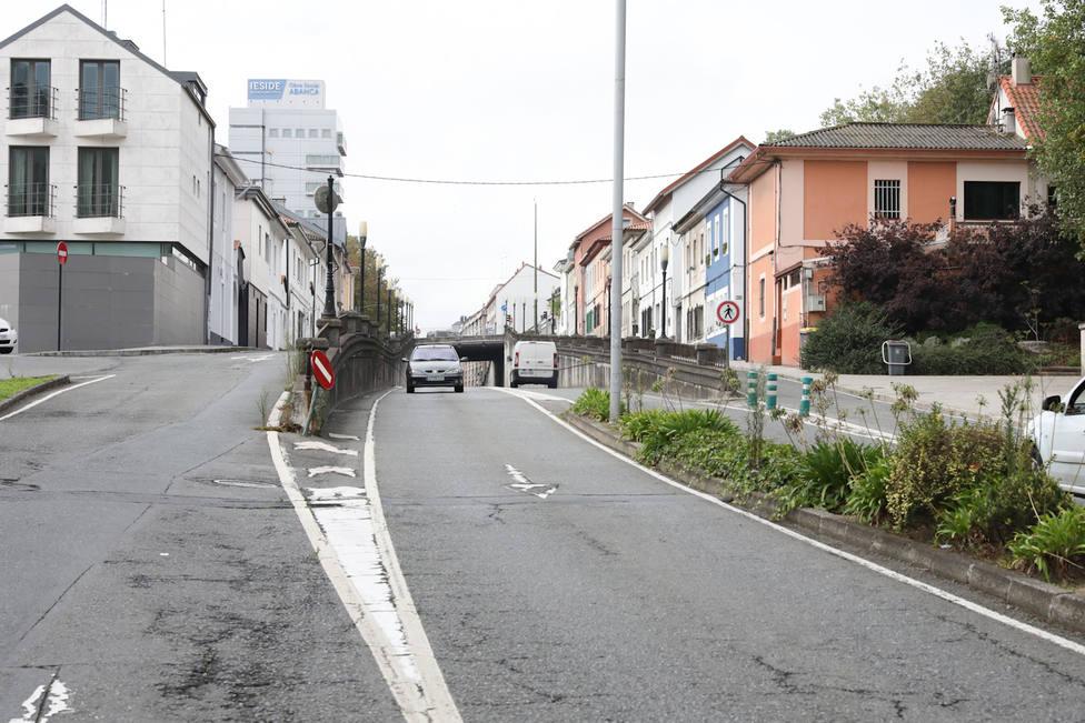 Cruce Avenida de Arteixo y Ronda de Nelle