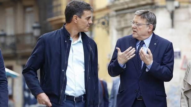 Sánchez y Ximo Puig