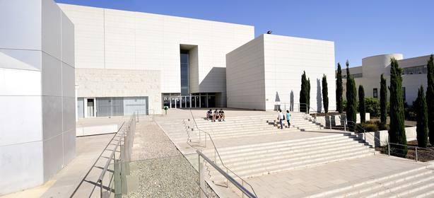 Escalera Biblioteca General Campus de Espinardo, Murcia