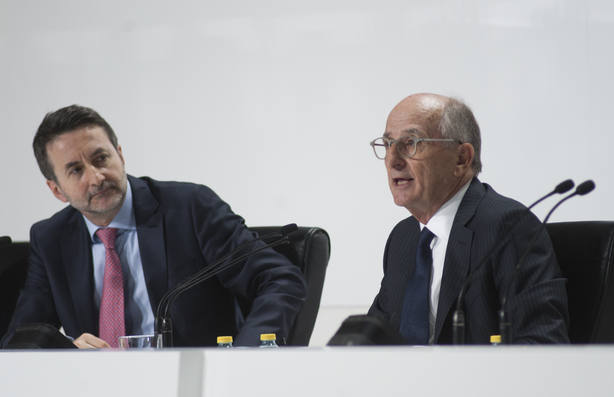 Antonio Brufau y Josu Jon Imaz