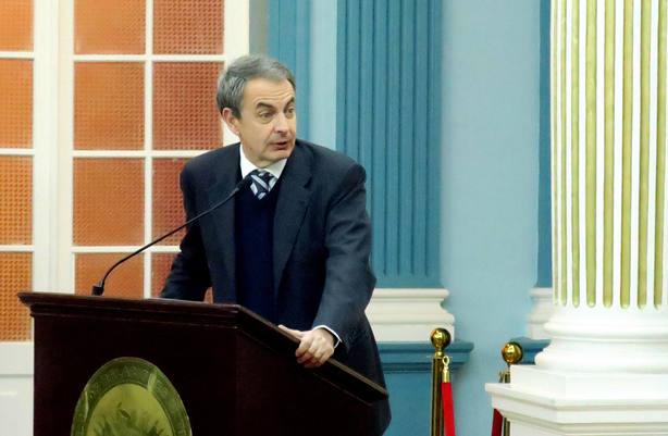 Rodríguez Zapatero advierte del peligro de la negación del multilateralismo