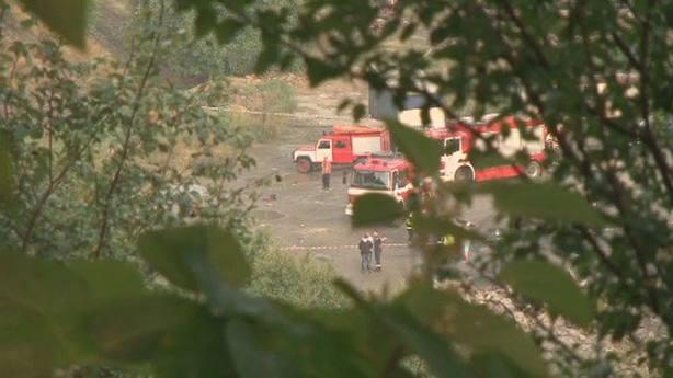 Al menos 15 muertos al volcar un autobús en una carretera de montaña cerca de Sofía (Bulgaria)