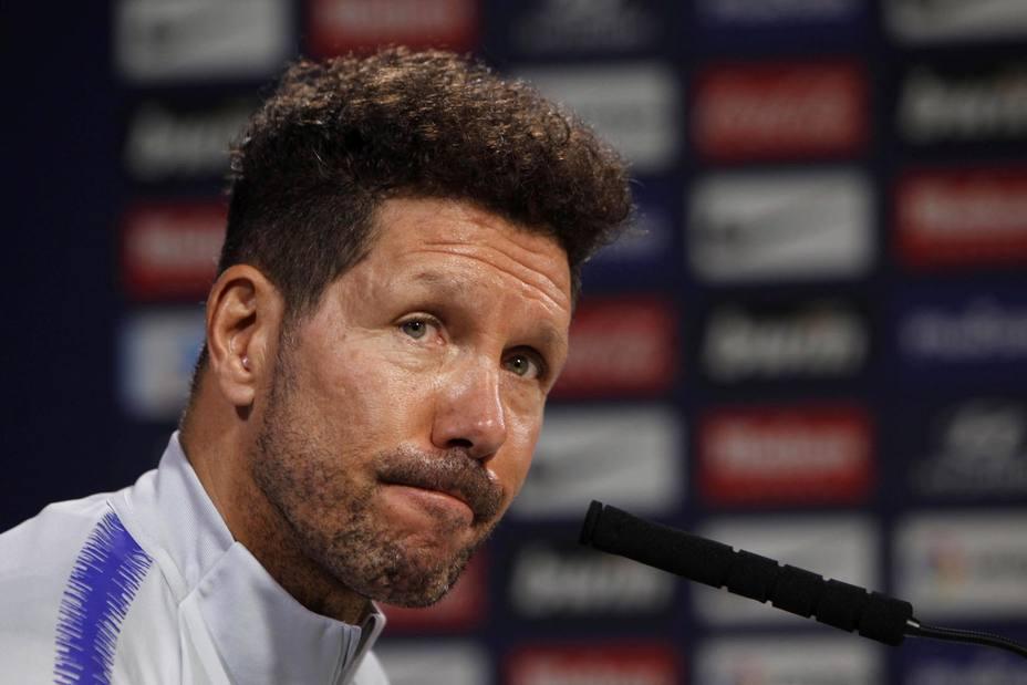 Simeone: Si todo va normal, Filipe estará jugando con el Celta