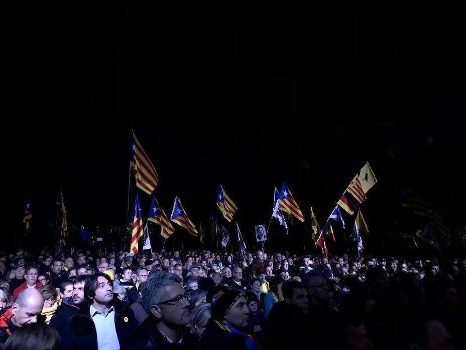 Puigdemont: Ha llegado la hora de pasar de la indignación a la acción