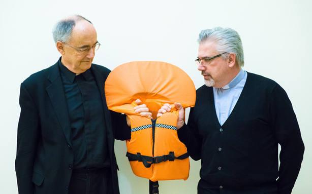 Fabio Baggio, la voz y las manos del Papa en el Mediterráneo
