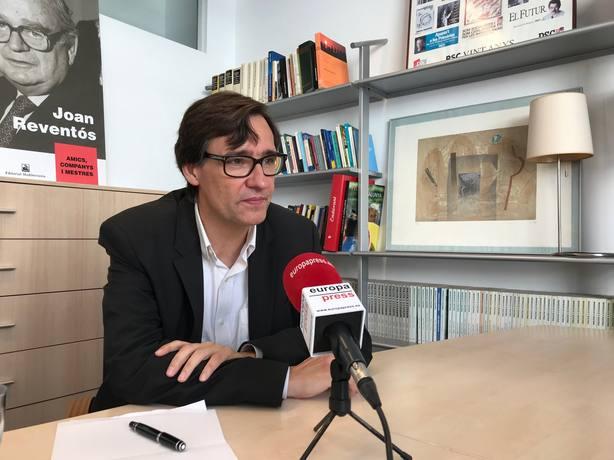 El PSC descarta un pacto de Presupuestos si el Gobierno catalán no renuncia a la unilateralidad hacia la independencia