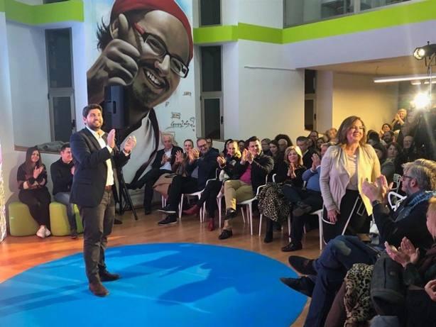 López Miras presenta en San Pedro a Visitación Martínez