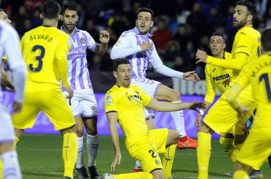 Un punto que sabe mejor al Valladolid que al Villarreal