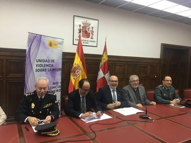 Presentación del servicio de asistencia psicológica a víctimas de violencia de género en Soria
