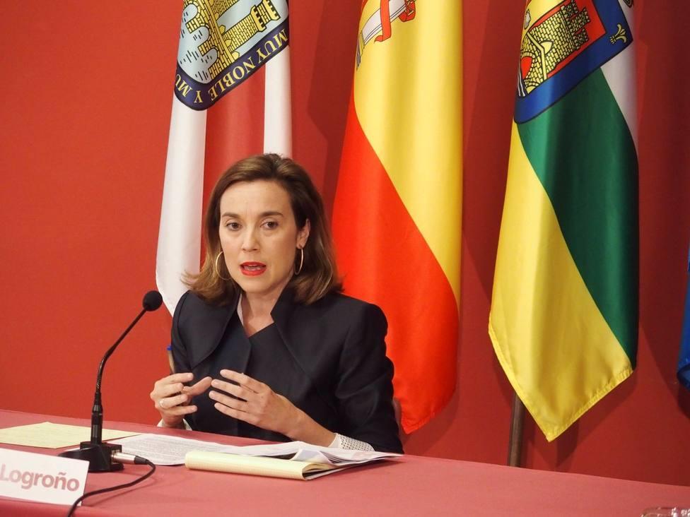 Cuca Gamarra será la candidata por el PP de La Rioja al Cogreso de los Diputado