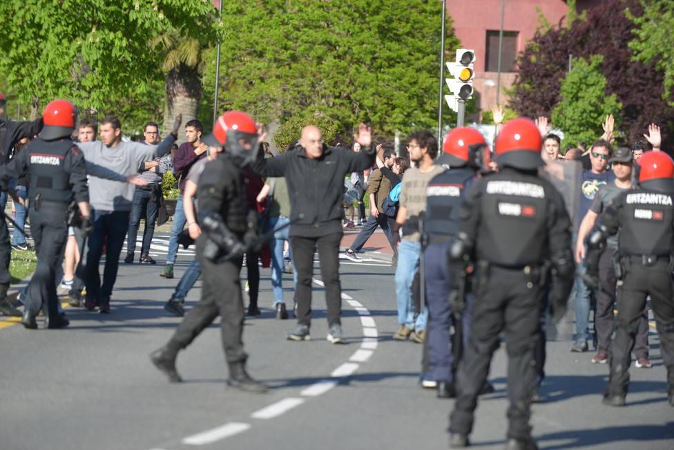 Gobierno Vasco reprueba los actos de violencia grave en Euskadi, aunque no hay diligencias abiertas contra nadie