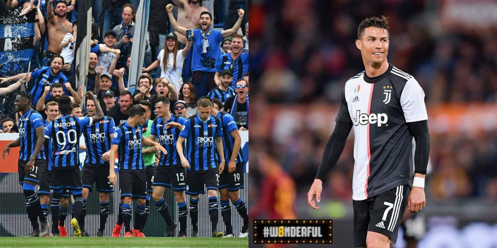 El Atalanta, imparable hacia la Champions; la Roma doblega a la Juve en el estreno de la nueva camiseta