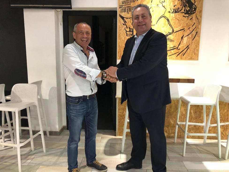 Juan Carlos Vizcaino y Enrique Escalante