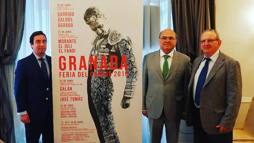 Acto de presentación del II Certamen de Novilladas en Clases Prácticas de Granada