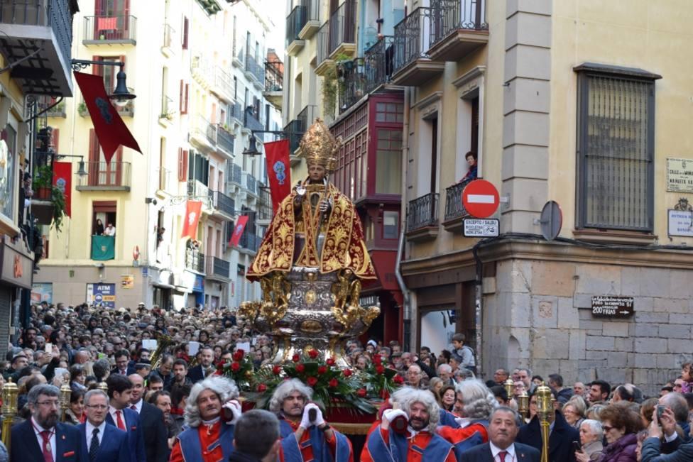 San Fermín en Procesión