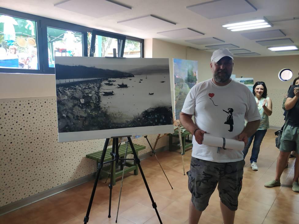 El primer premio fue para Néstor López Casas - FOTO: Concello de Cedeira