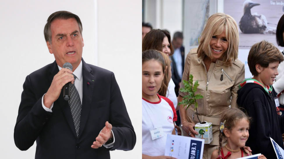 Bolsonaro se burla del aspecto de la mujer de Macron y desata las críticas del Presidente francés