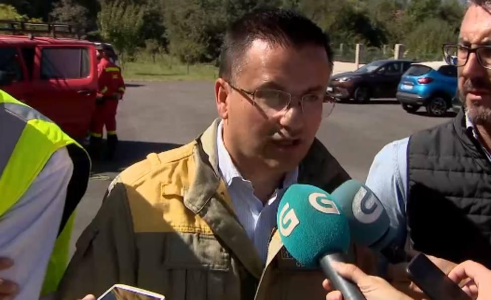 El incendio de Ribeira, claramente provocado